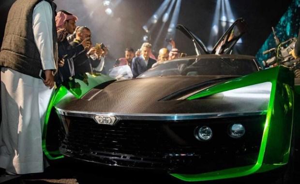 السيارة 2030 في موسم الرياض للسيارات