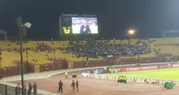 الكاف يوقع غرامه 25 الف جنيه علي نادي الزمالك بسبب تذاكر