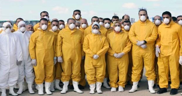 حالات فيروس كورونا في مصر