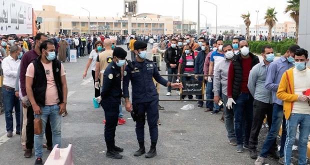 ترحيل المصريين في الكويت