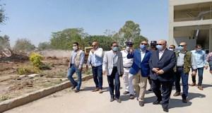 محافظ القاهرة يتفقد الإزالات بمحيط نادى الشمس