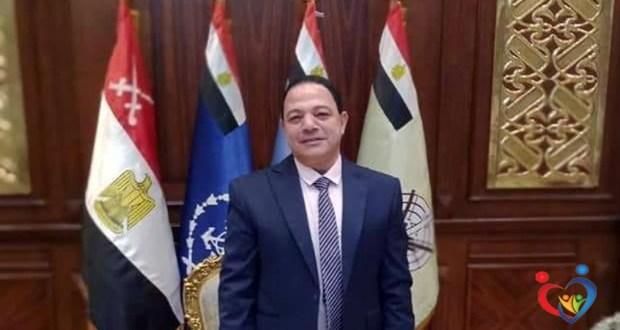 الدكتور أمجد عبد الحميد مدير هيئة الإسعاف بالمنوفية