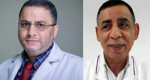 الدكتور سيد بصيله والدكتور صادق الأشوح