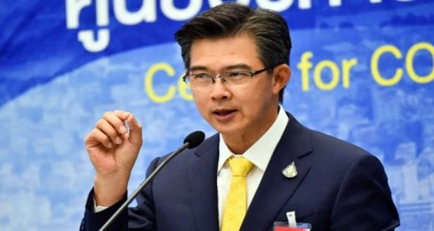 تاويسين فيزانوسين المتحدث بإسم مركز إدارة فيروس كورونا فى تايلاند