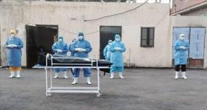 صلاة الجنازة على متوفي بفيروس كورونا