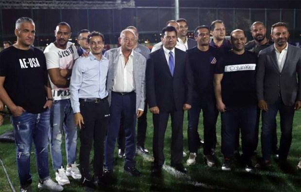 فعاليات بطولة كأس ZED لكرة القدم للناشئين بحضور وزير الرياضة