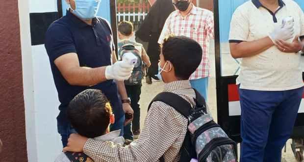 10 حالات فيروس كورونا في مدارس المنيا