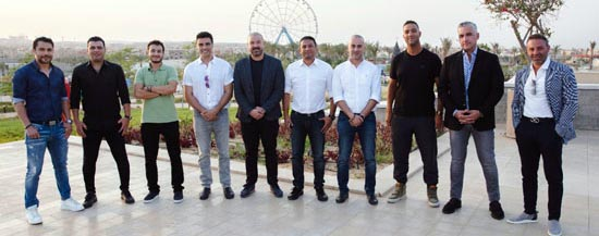 أعضاء مجلس إدارة نادي زد اف سي
