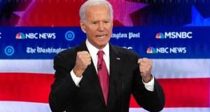 جو بايدن مرشح الديموقراطين فى انتخابات الرئاسة الأمريكية 2020.
