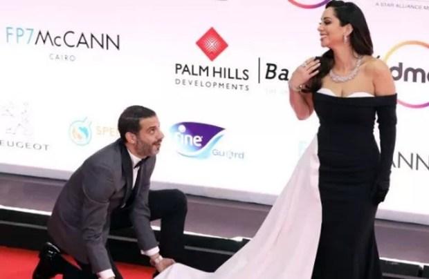 بسنت شوقي ومحمد فراج في مهرجان القاهرة