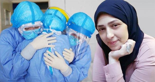 أسماء السباعى ممرضة بمستشفي أورام جامعة المنصورة