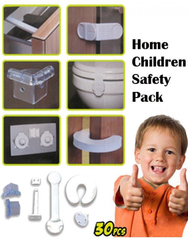 مجموعة امان لحماية الاطفال من الزوايا الحادة والكهرباء
