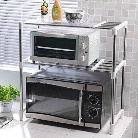 ستاند الميكروويف لتنظيم ادوات المطبخ
