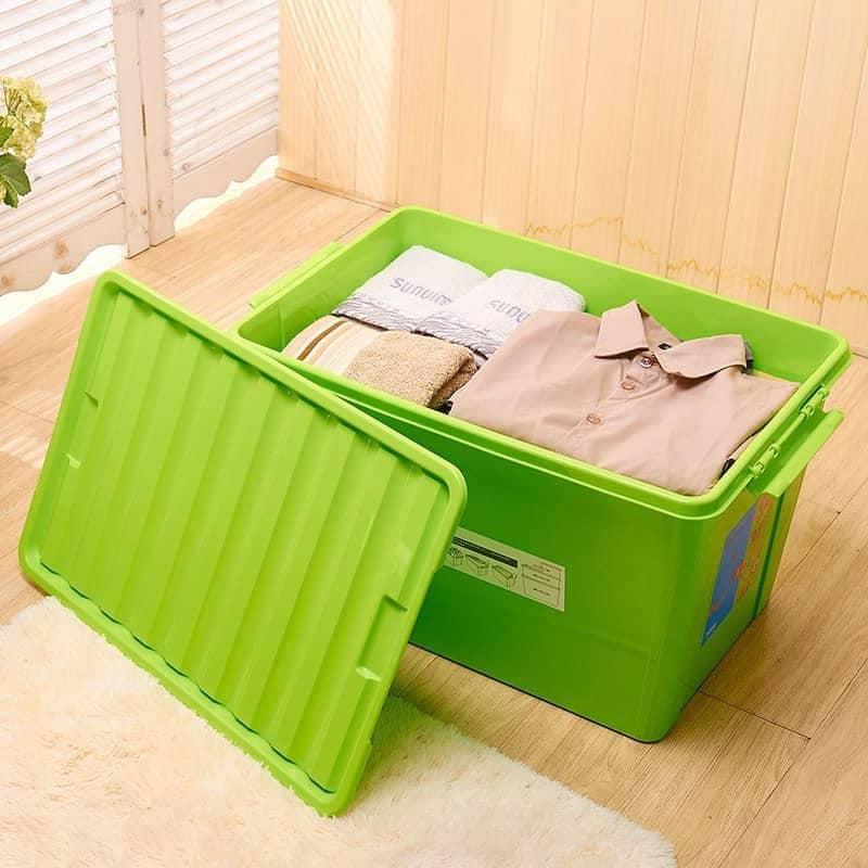 صندوق تخزين كبير سعة 72 لتر