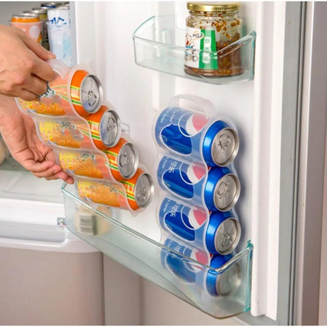 حامل ومنظم زجاجات الكانز والكولا
