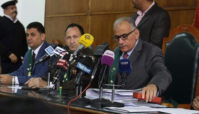 Judge Ahmed El-Shazly of Supreme Administrative court in Egypt