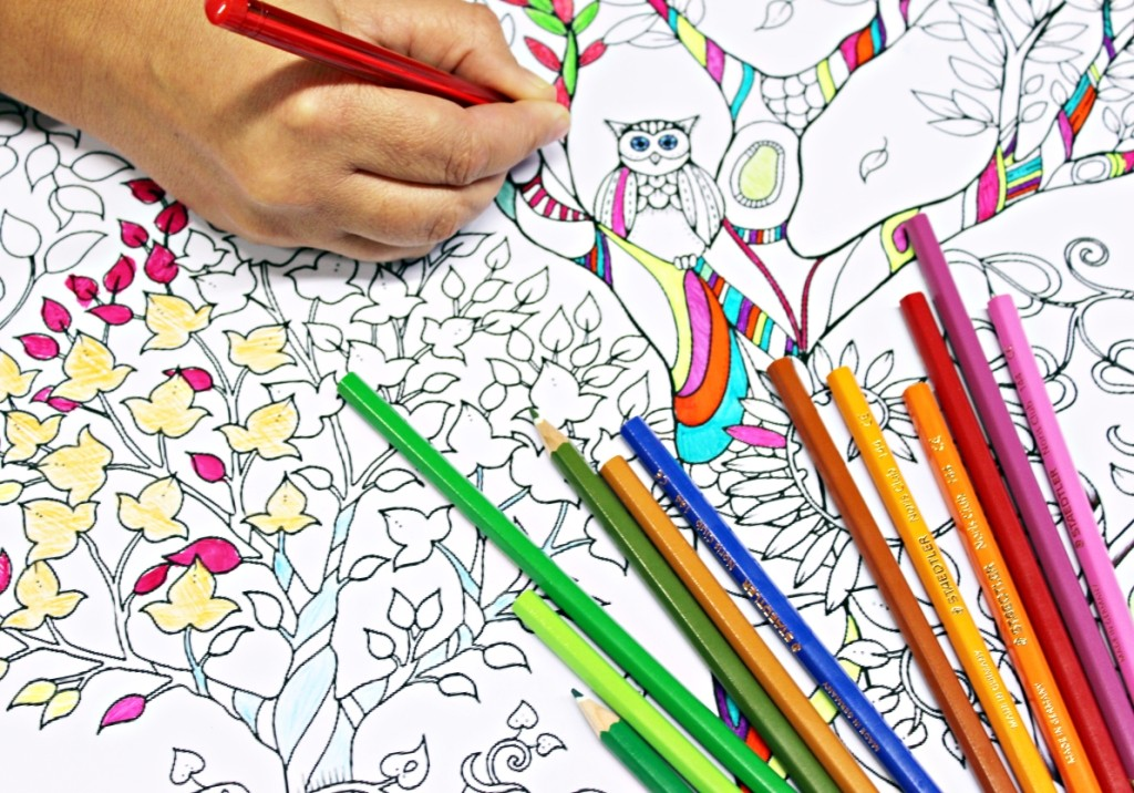 anti stress coloring books are egypt s new answer to increasing