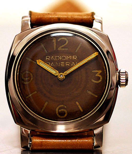 Hammer's Ref. 6154 with tropical brown dial