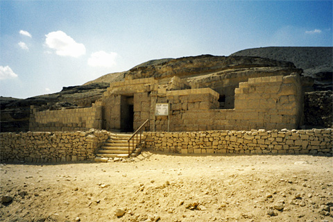 The tomb of Iwn-min