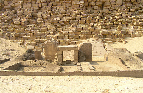 Funerary Temple on the eastern side