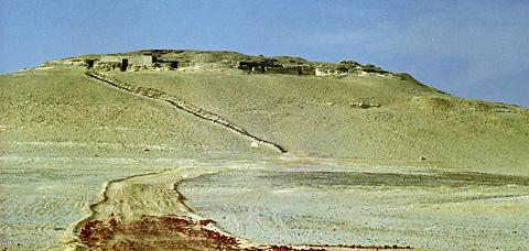 Old Kingdom tombs at Dishasha