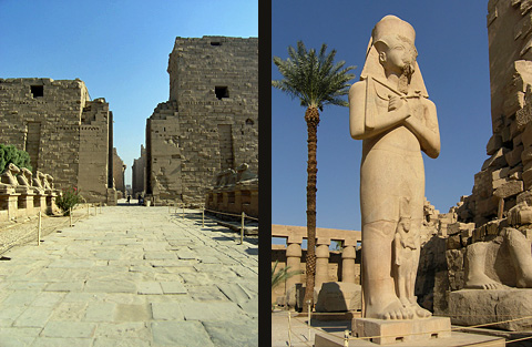 Karnak Temple and Rameses II