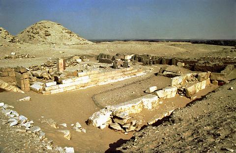 Funerary complex of Queen Khentkawes II