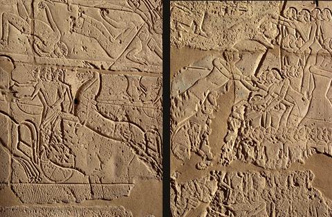 Scenes from the Battle of Kadesh