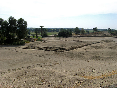 Site of the Temple of Tawosret and Siptah
