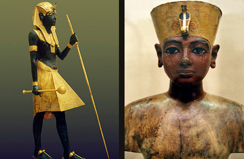 Treasures from the tomb of Tutankhamun