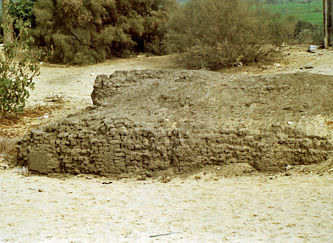 Niched facade of Early Dynastic mastaba