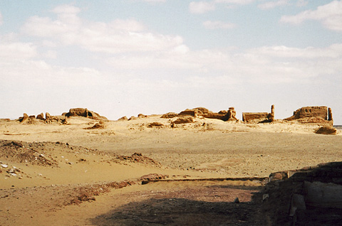 Ismant el-Kharab, site of ancient Kellis