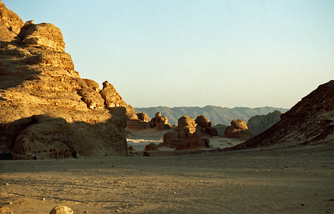 Desert and mountains of Sinai