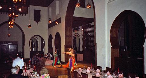 Folk Dancing at the Mena House Hotel