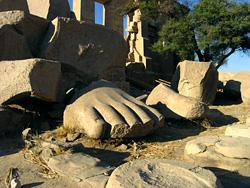 Feet of Rameses