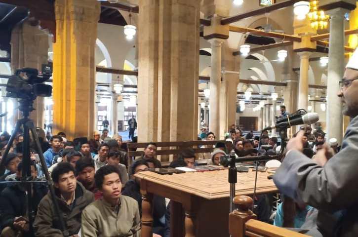 "Pesan Prof. Dr., Ayman al-Hajjar Kepada Maba Indonesia ""Khususnya"" dan Seluruh Penuntut Ilmu ""Umumnya"""