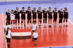 What do the modern Egyptians look like? - Egyptian young girls from Volleyball