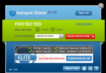 برنامج هوت سبوت شيلد 2019 HotSpot Shield