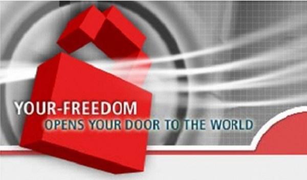 شعار برنامج your-freedom