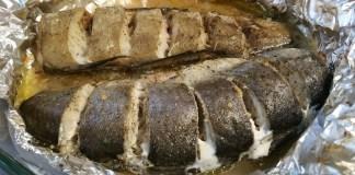 Рыба в фольге_