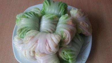 Голубцы с китайской капустой 5