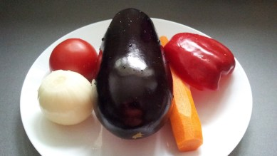 Курица с овощами 1