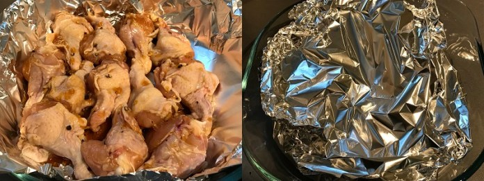 Куриные крылышки в соево-медовом соусе _4