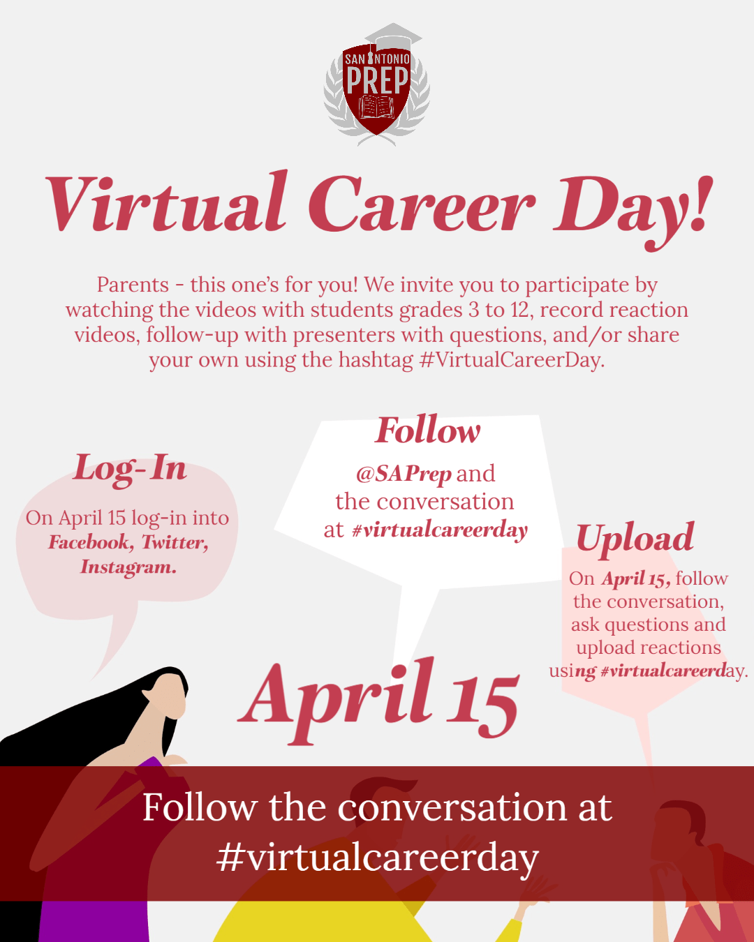 Central Texas charter school invites professionals statewide to join Virtual Career Day!
