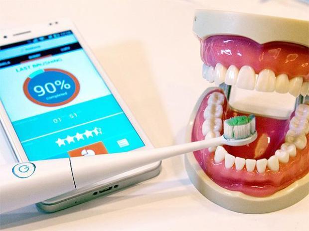 periuța de dinți inteligentă