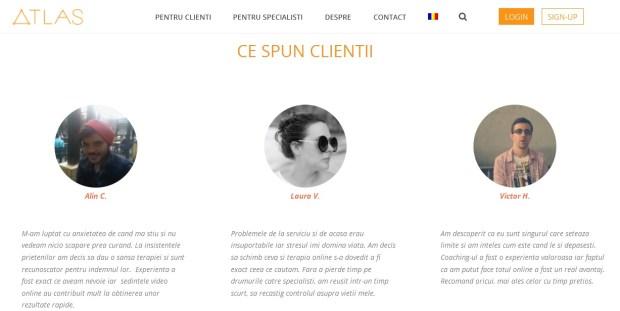 terapie online, platforma Atlashelp