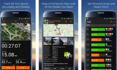 aplicații Android pentru fitness