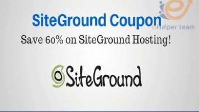 Photo of Hosting SiteGround 60% discount + free domain from here