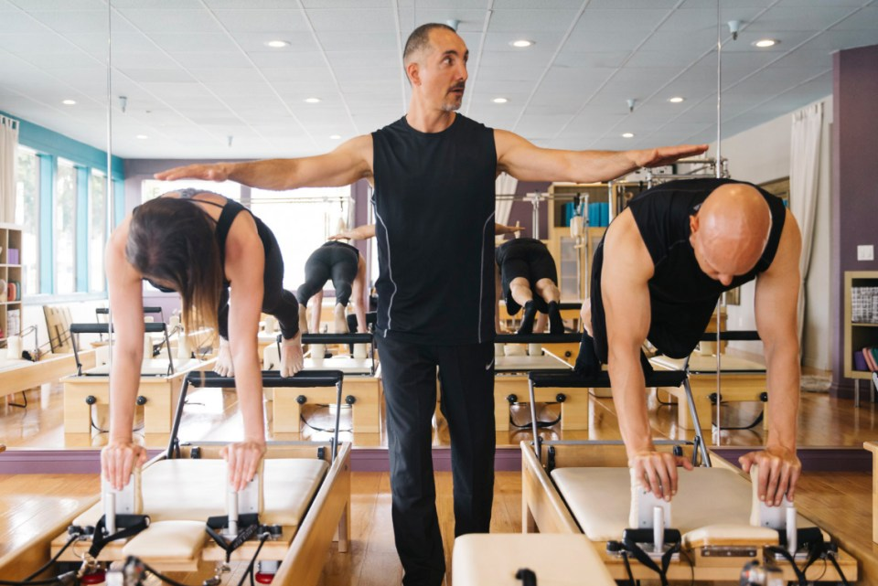 Pilates balance control