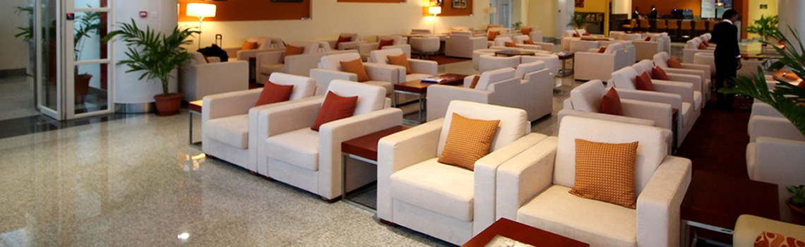V C Bird International Airport Executive lounge
